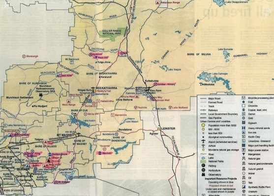 Yalgoo Maps - Mining Leases