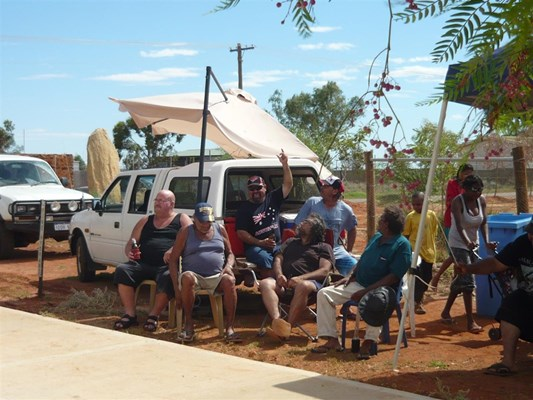 Australia Day in Yalgoo - Shire on Aus day