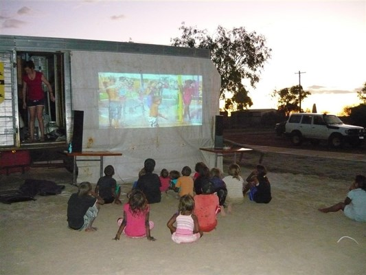 Australia Day in Yalgoo - Aus Day movie night